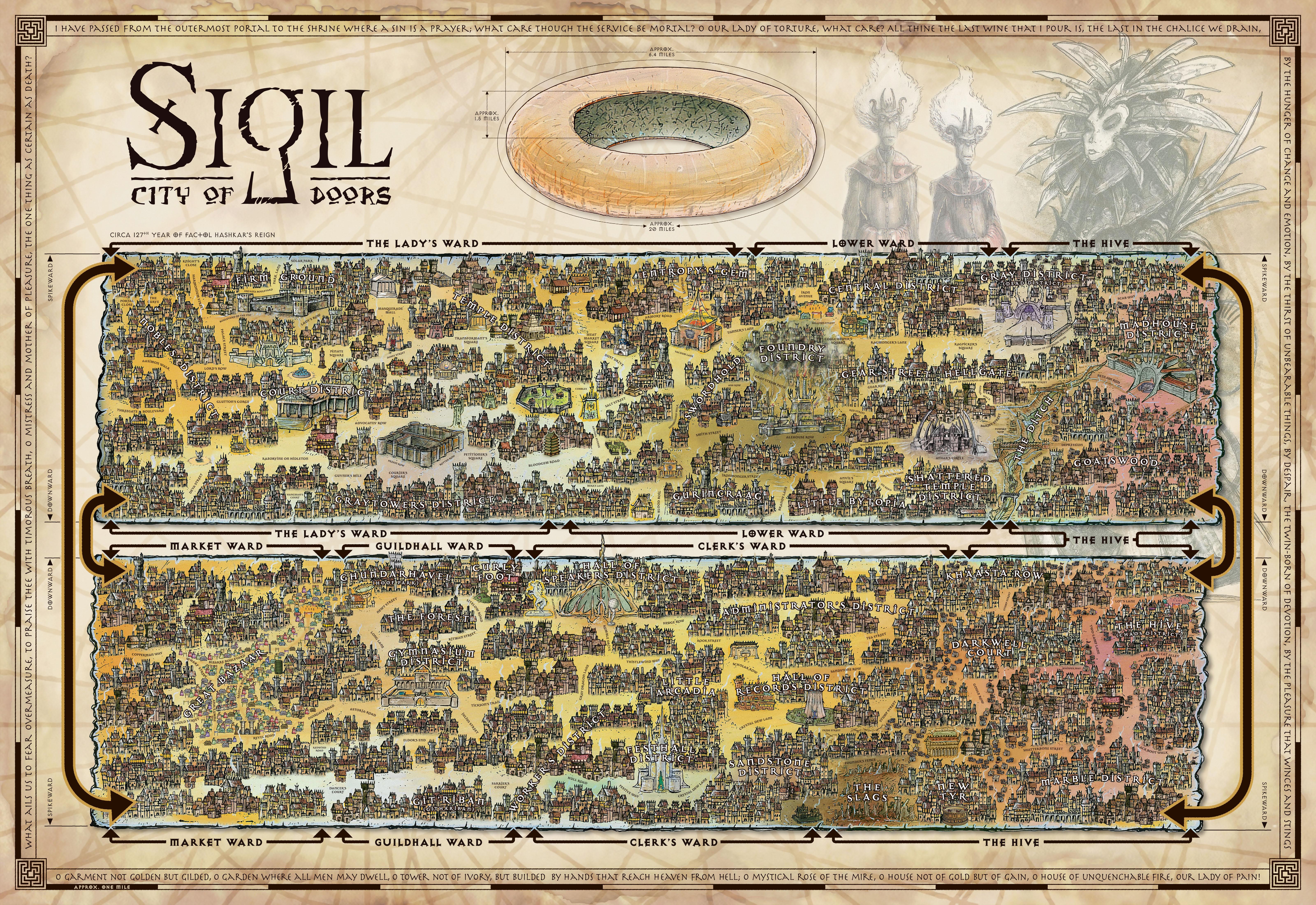 Map of Sigil
